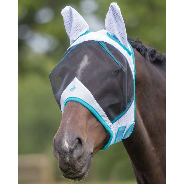 Bridleway Full Face Fly Mask with Ears